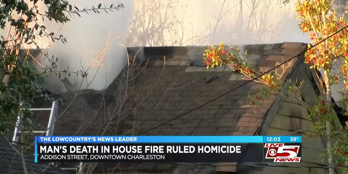 VIDEO: Death of man found after house fire ruled homicide