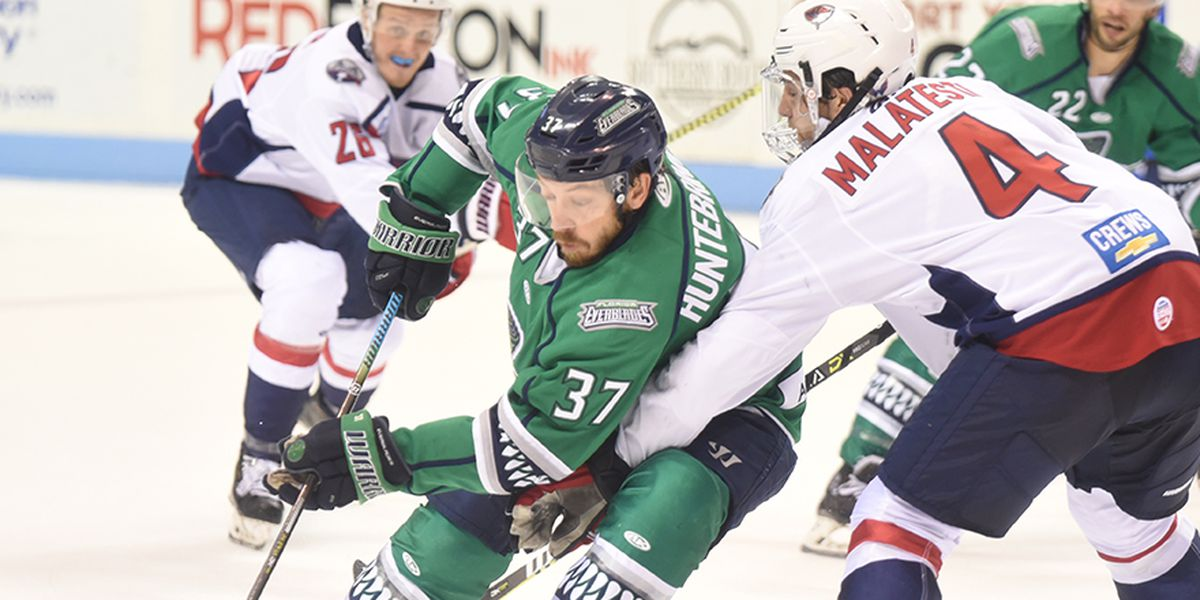 Blades Topple Stingrays With Pair of Late Goals