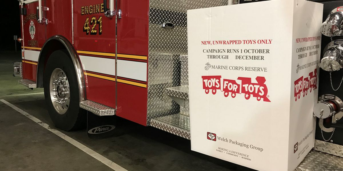 Dorchester County Fire-Rescue kicks off holiday toy drive
