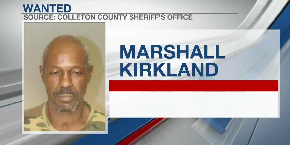 VIDEO: Colleton County deputies searching for man wanted for not registering as sex offender