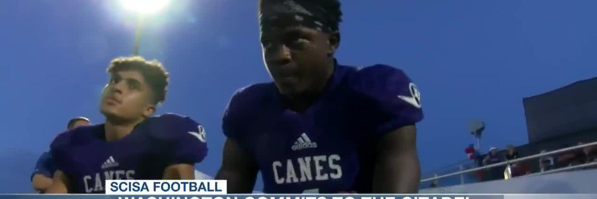 VIDEO: First Baptist's Washington commits to The Citadel