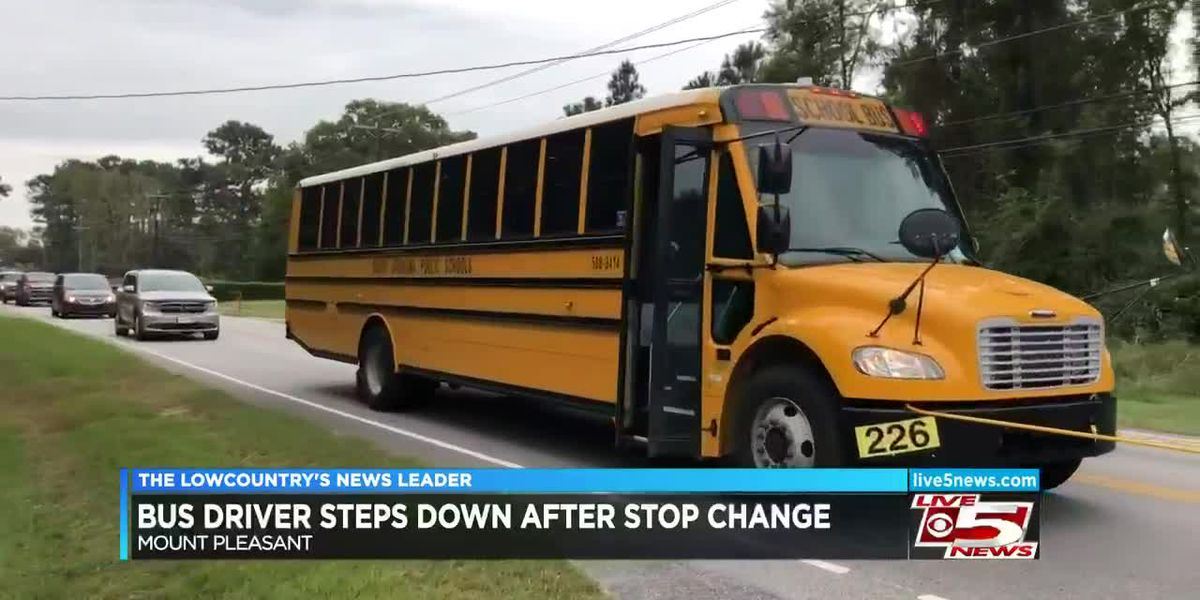 VIDEO: Bus driver steps down after CCSD moves stop on to major highway