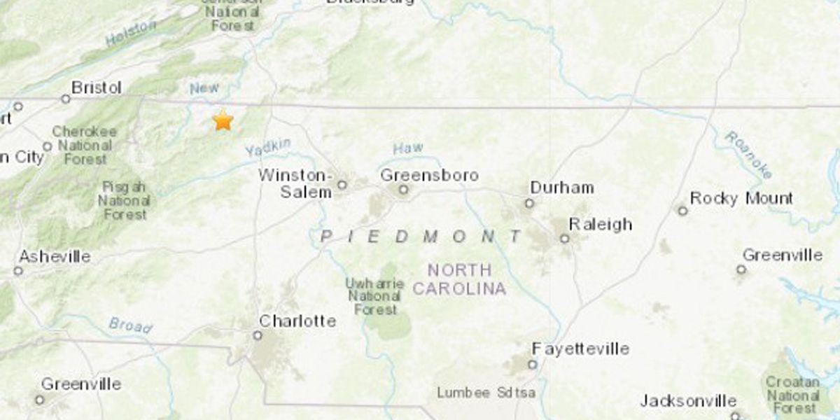 5.1 magnitude quake rattles parts of NC, Georgia