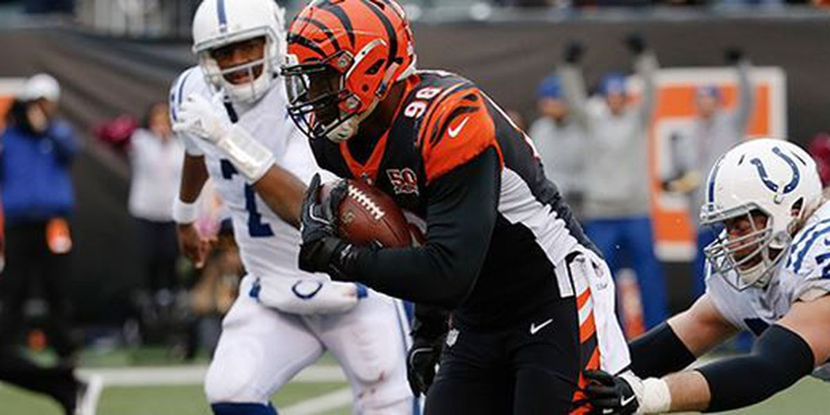 Green, Dunlap score for Bengals in win over Colts