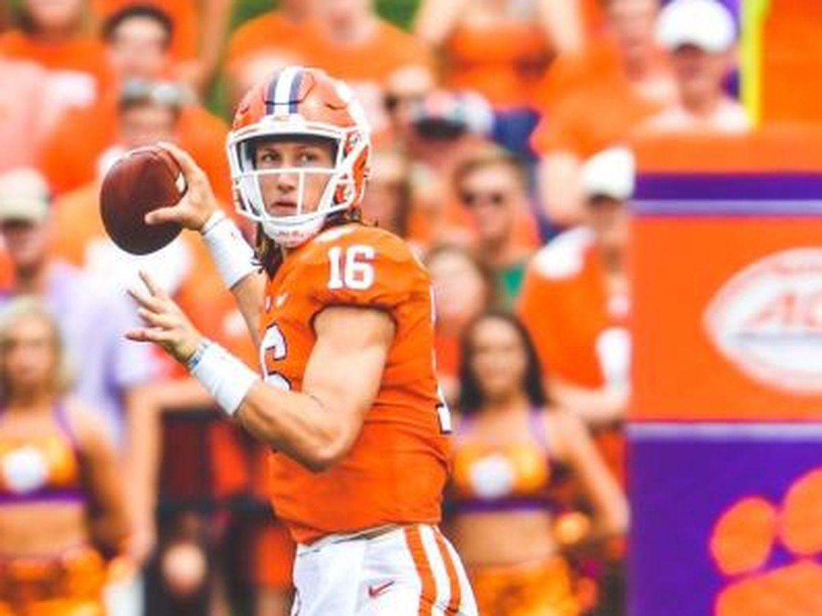 Clemson names Trevor Lawrence starting QB vs. Syracuse