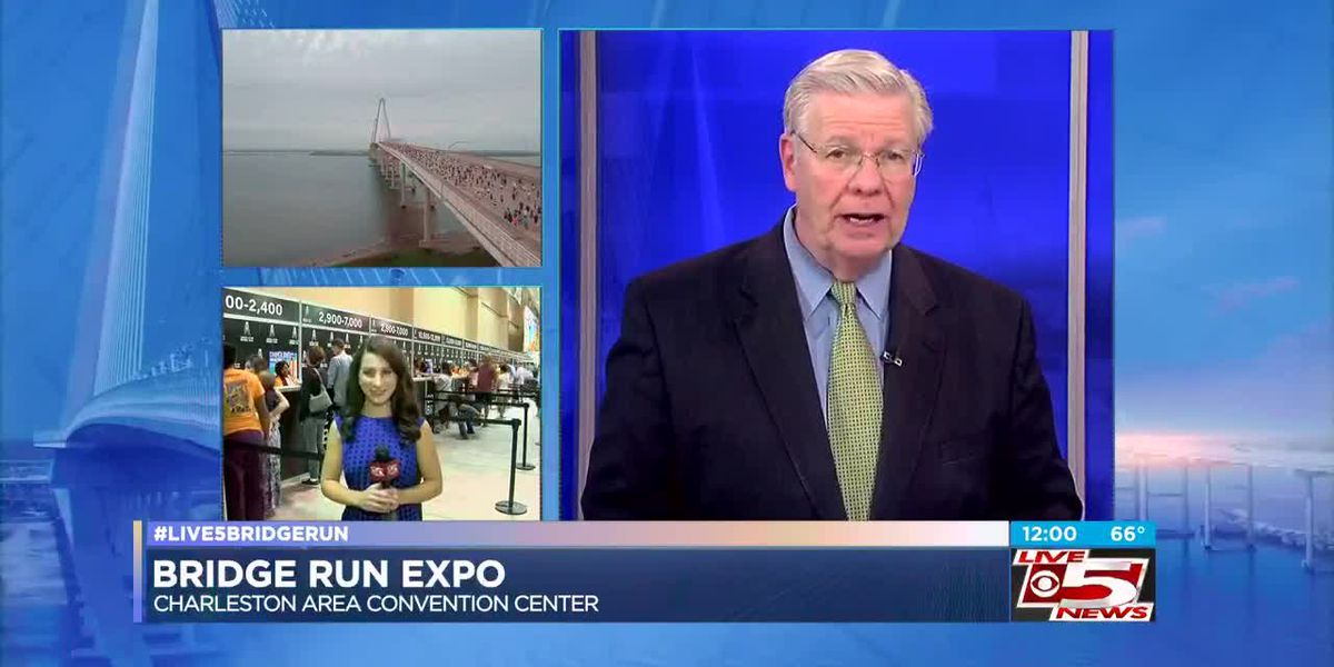 VIDEO: Cooper River Bridge Run expo helping runners prepare for race day