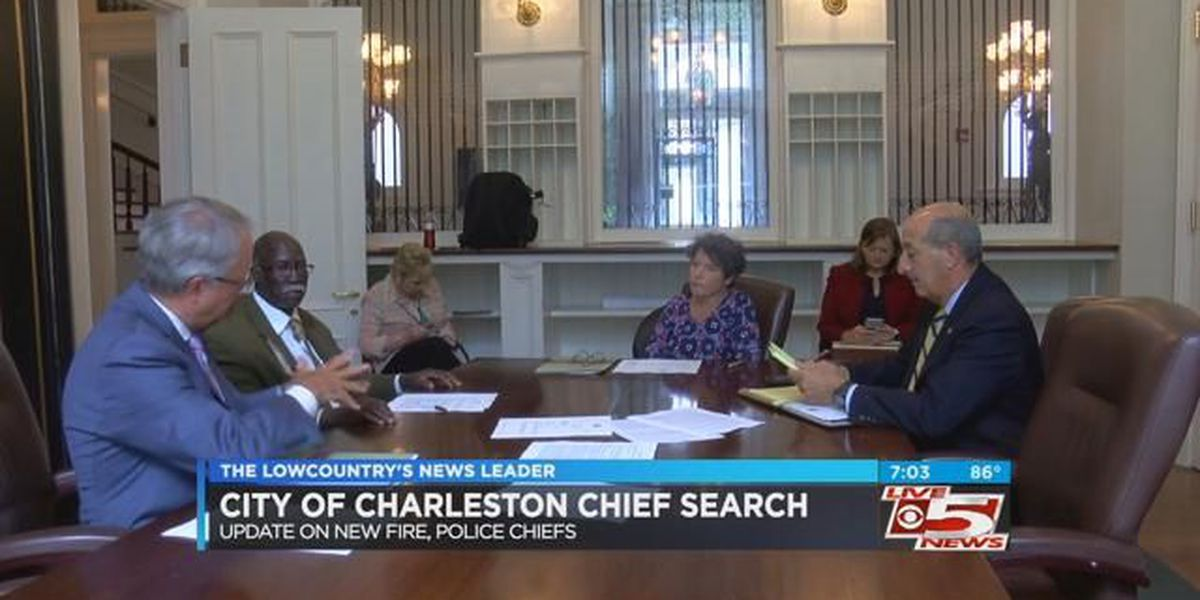 Charleston residents pitch ideas for new police and fire chiefs