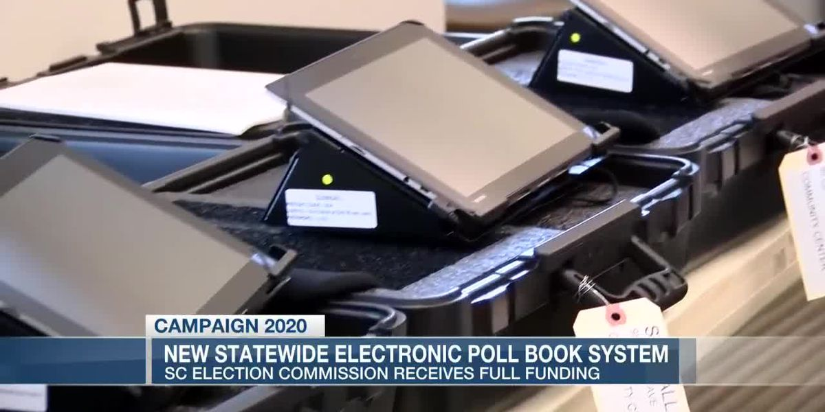 VIDEO: SC Election Commission works to update electronic poll books