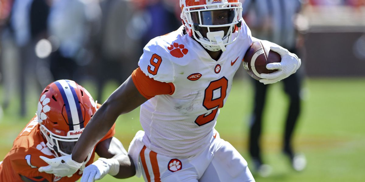 Clemson's Etienne Repeats as ACC Player of the Year