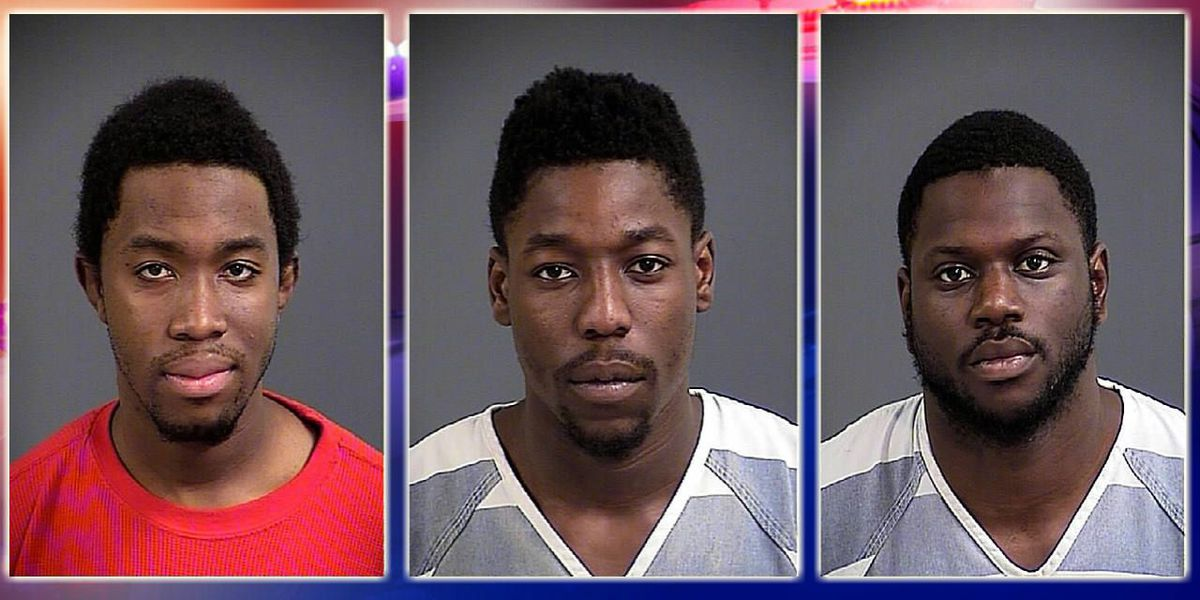 Deputies: Search leads to three arrests, multiple charges