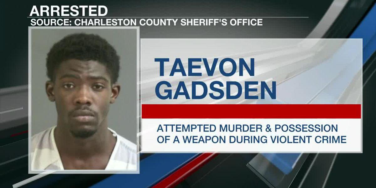 VIDEO: Police: Man arrested for attempted murder in North Charleston shooting