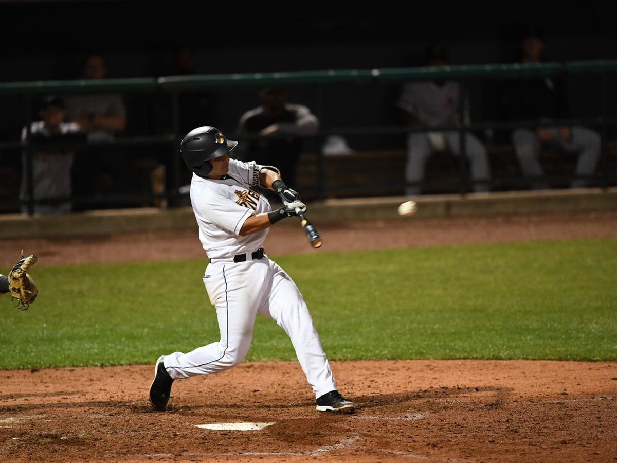 RiverDogs Offense Surges Late, but Falls Short to Tourists in Road Trip Opener