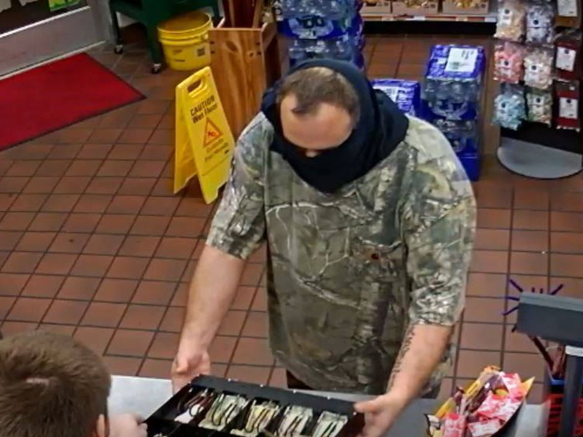 Walterboro police looking for gas station robbery suspect