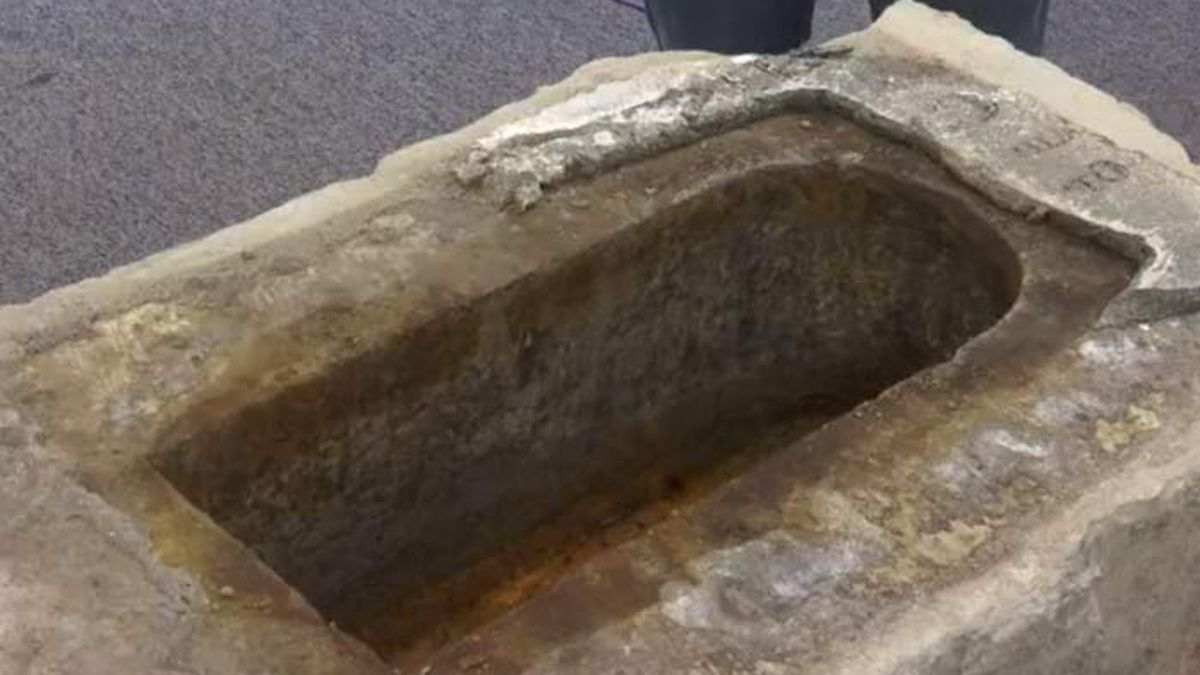 Cannonball, tin containers removed from Calhoun Monument time capsule