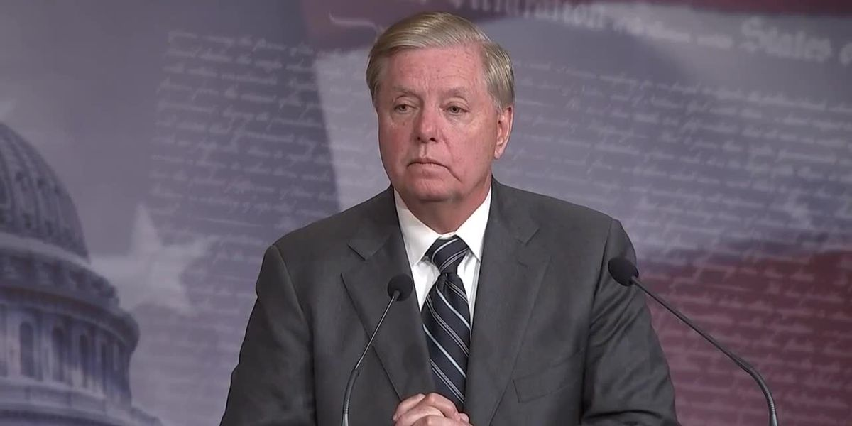 Sen. Lindsey Graham worries Georgia's reopening is 'going too fast too soon'
