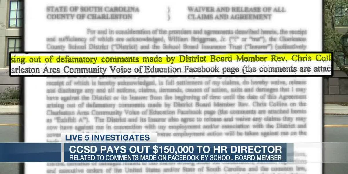 VIDEO: $150k settlement to CCSD HR chief for board member's Facebook comments