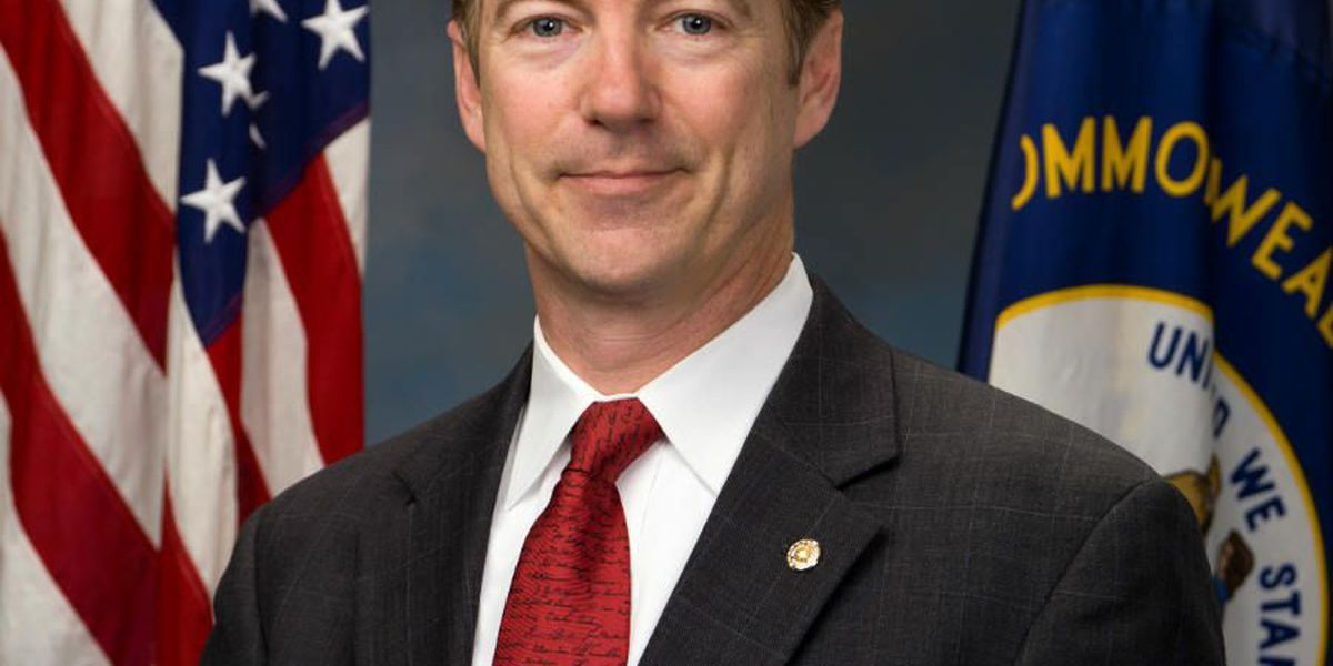 Rand Paul expected in Mount Pleasant, slated to talk about issues concerning veterans
