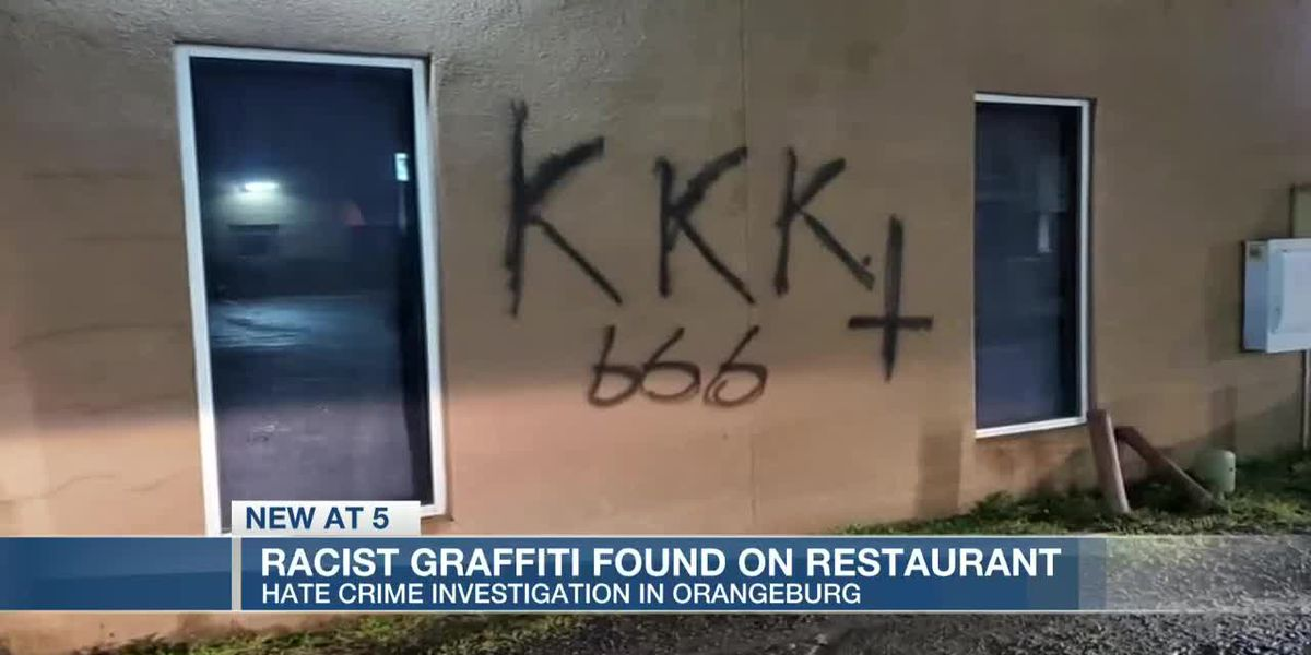 VIDEO: Hate crime investigation underway after restaurant vandalized with racist graffiti
