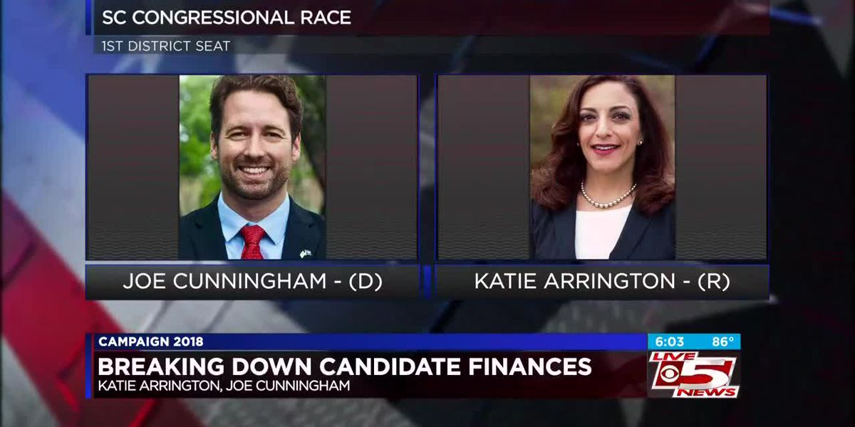 Campaign finance records for congressional candidates show Cunningham leading in donations