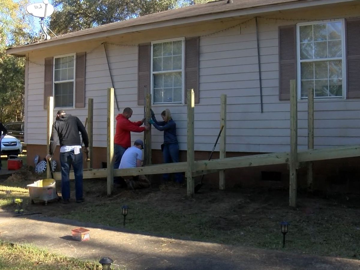 Lowcountry group builds wheelchair ramps for those in need