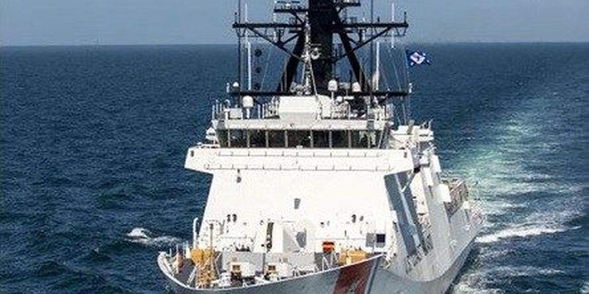 Coast Guard National Security Cutter sails into new Charleston home