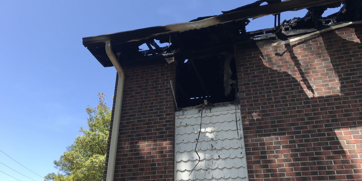 Dozens displaced after apartment building fire in Georgetown