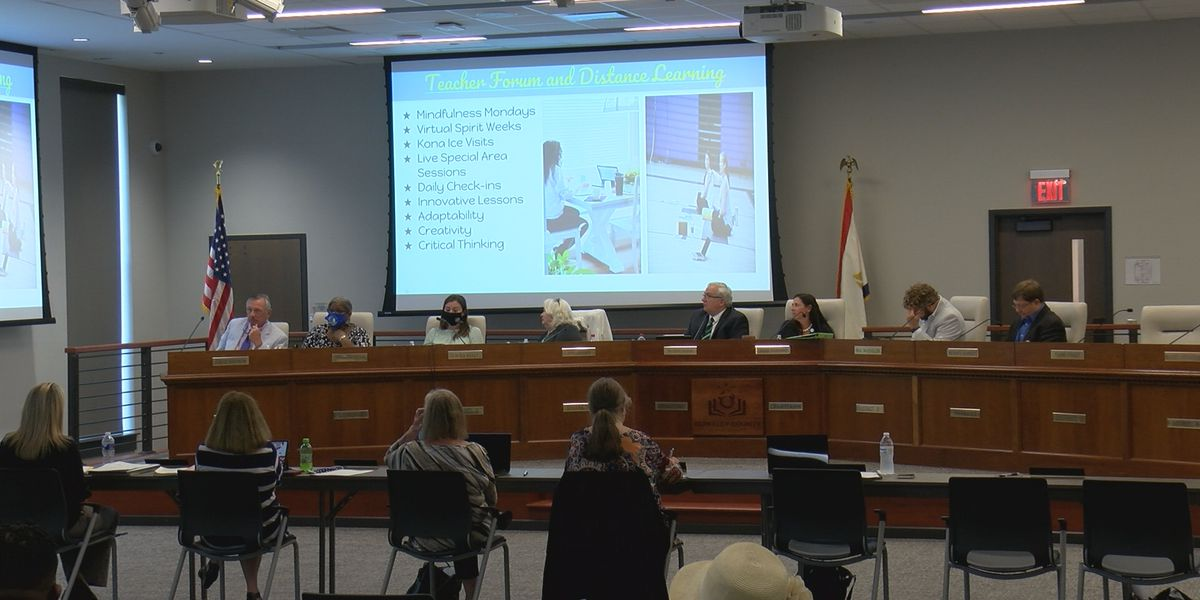Berkeley Co. school board approves reopening plans