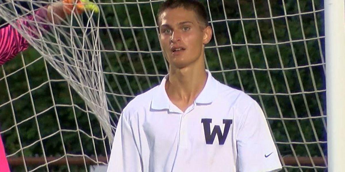 Wando's Marino named Gatorade Boys Soccer SC Player of the Year