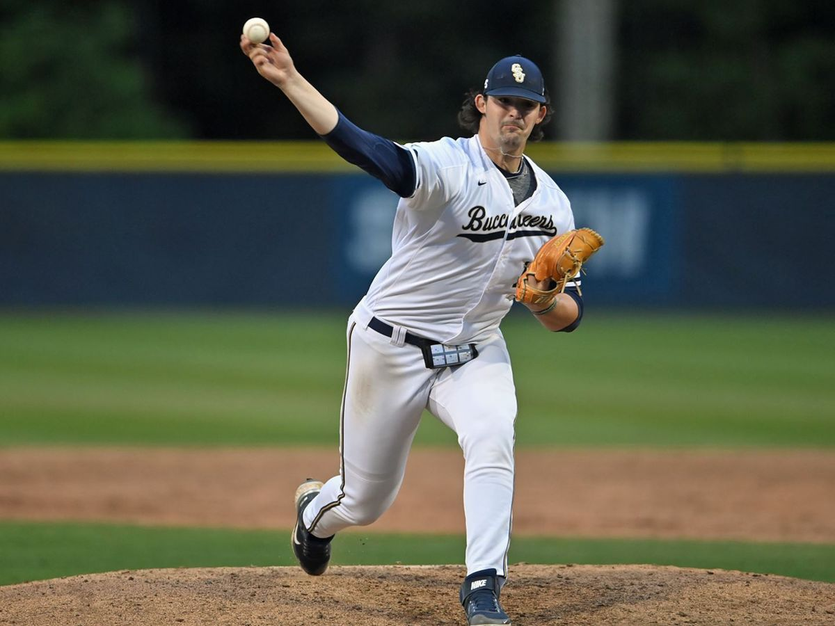Bucs fall in pitchers' duel to USC Upstate in weekend opener