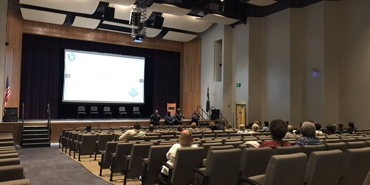 Charleston police host town hall meeting on crime in West Ashley