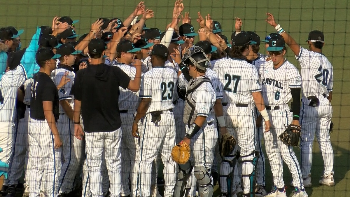 Coastal Baseball Drops Series Opener to Georgia Southern on Friday Night