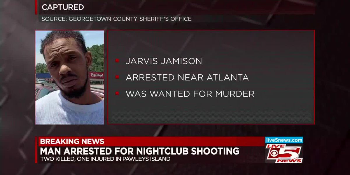 VIDEO: Suspect wanted for Lowcountry nightclub shooting that killed 2 people captured near Atlanta