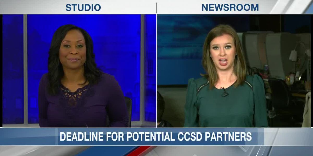 VIDEO: Tuesday marks deadline for companies interested in CCSD partnership