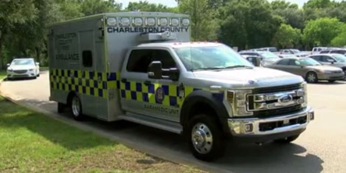 Charleston Co. EMS asking public to help 'stuff the ambulance' with school supplies