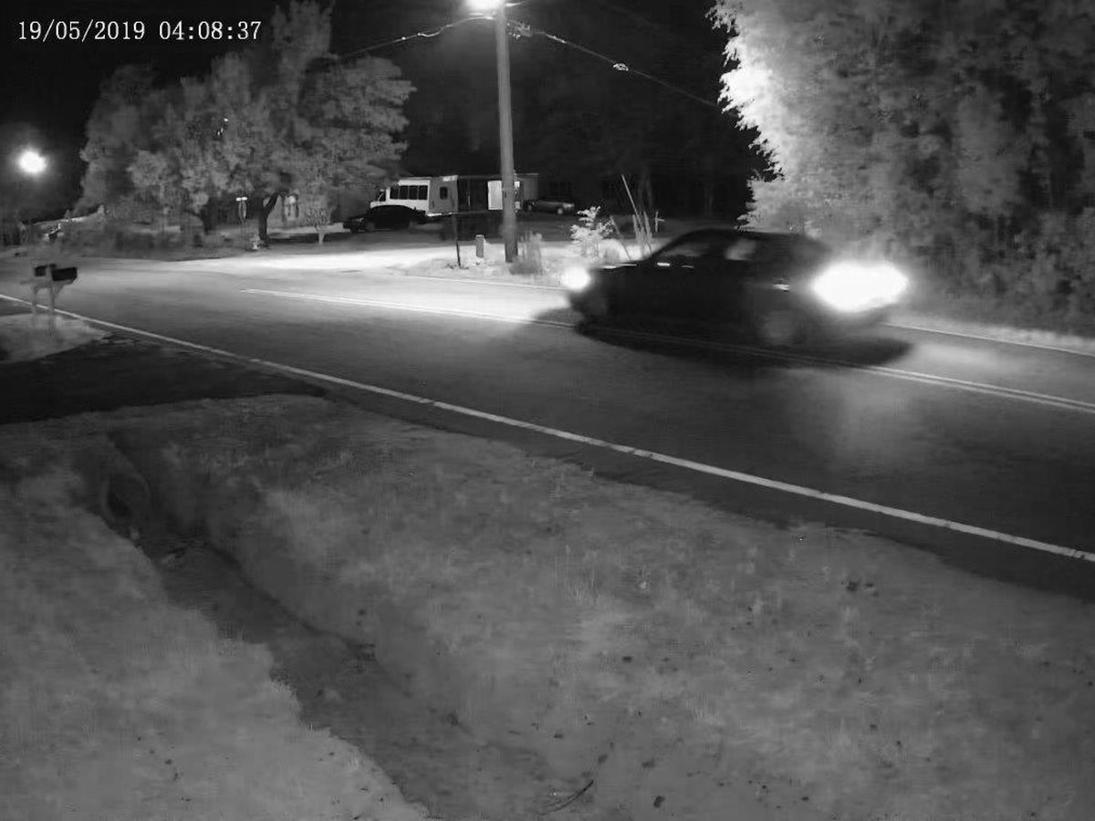 Deputies searching for vehicle of interest in drive-by