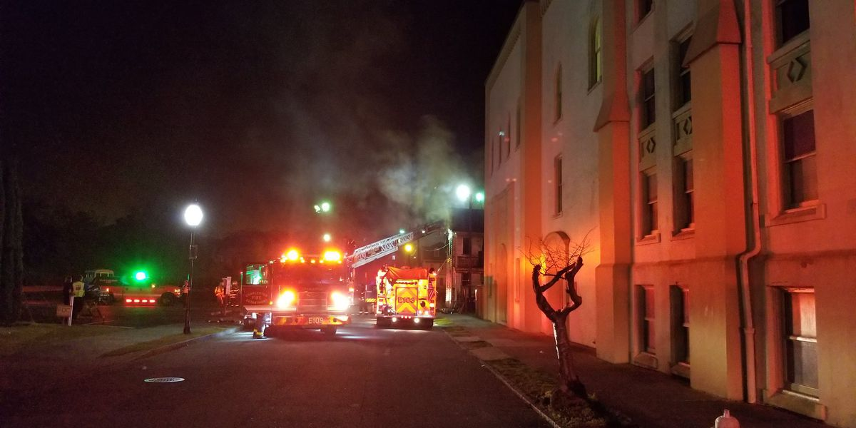 Firefighters respond to house fire near Mother Emanuel AME Church