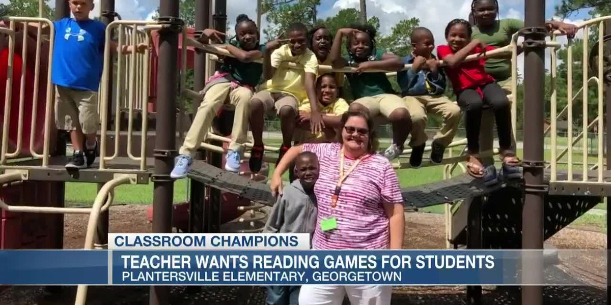 VIDEO: Classroom Champions: A Georgetown County teacher wants reading games for her third graders