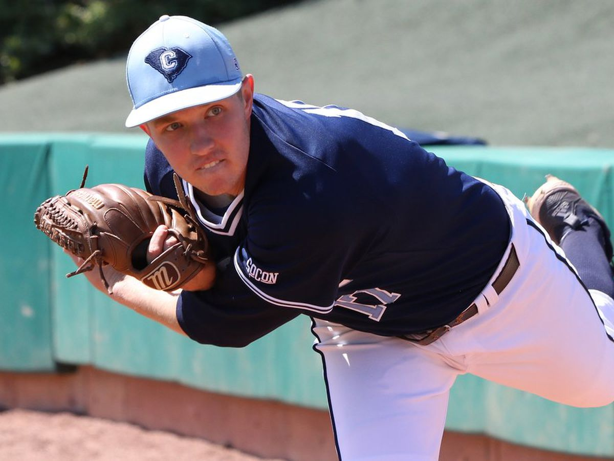 Connolly Tosses Complete-Game Shutout Over VMI