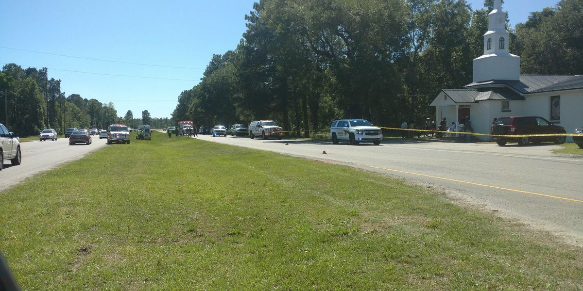Private ambulance truck involved in fatal auto-pedestrian collision on Hwy. 17