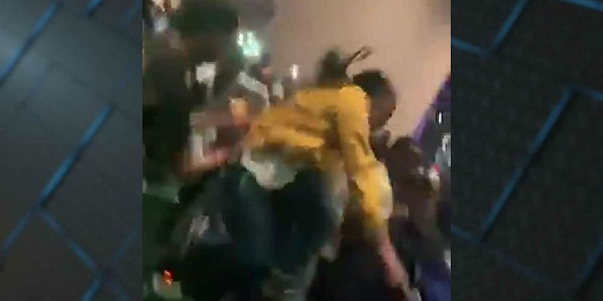 VIDEO: Police investigating after fraternity brawl at CCU's Wheelwright Auditorium