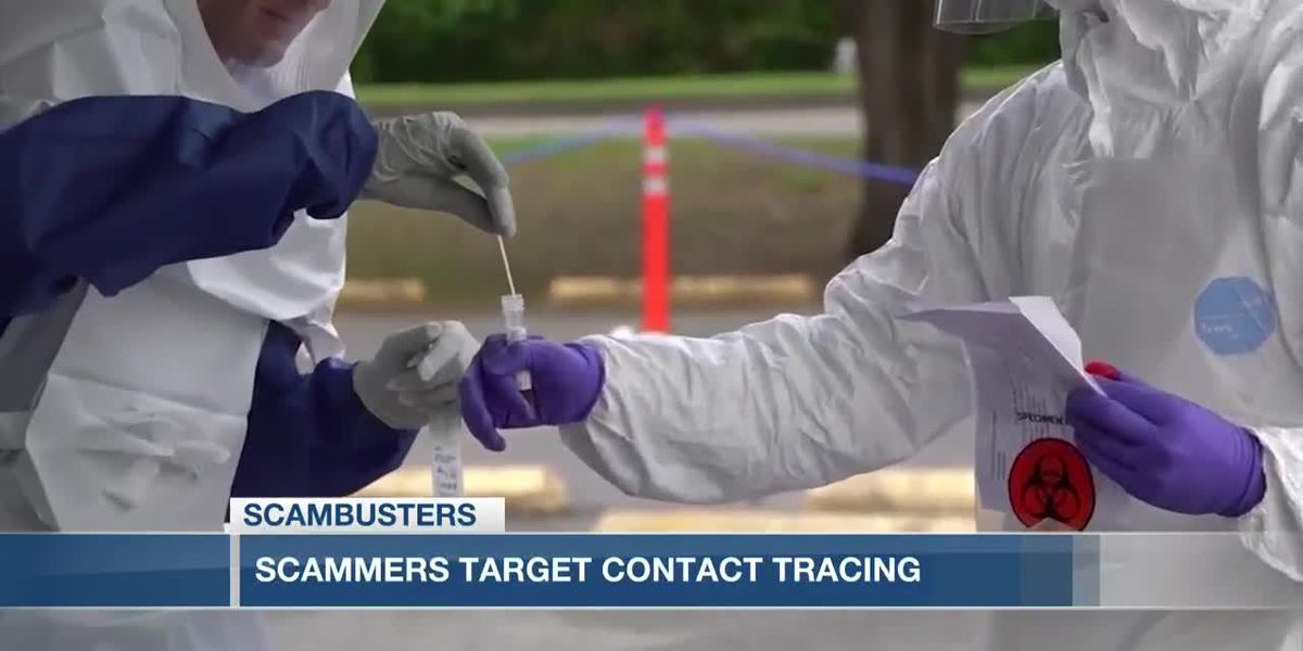 VIDEO: Live 5 Scambusters: Imposter scams target contact tracing efforts