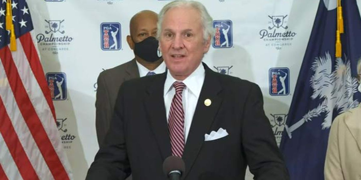 McMaster announces 3rd 2021 PGA event coming for SC