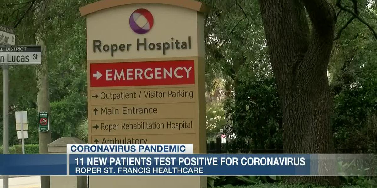 VIDEO: Roper St. Francis Health reports 11 new COVID-19 cases