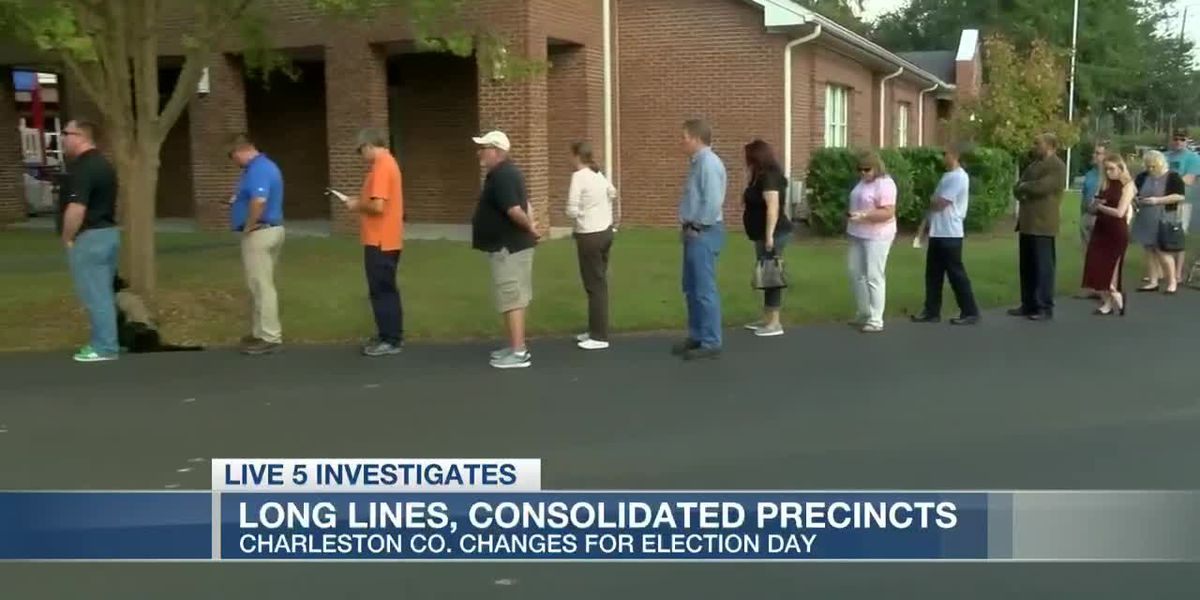 VIDEO: Charleston Co. Elections hopes changes will help Election Day lines
