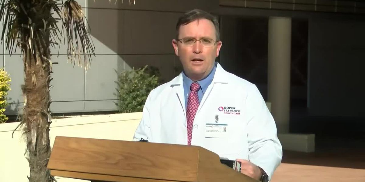 RAW VIDEO: Roper St. Francis Healthcare to hold drive-thru vaccinations at N. Charleston Coliseum
