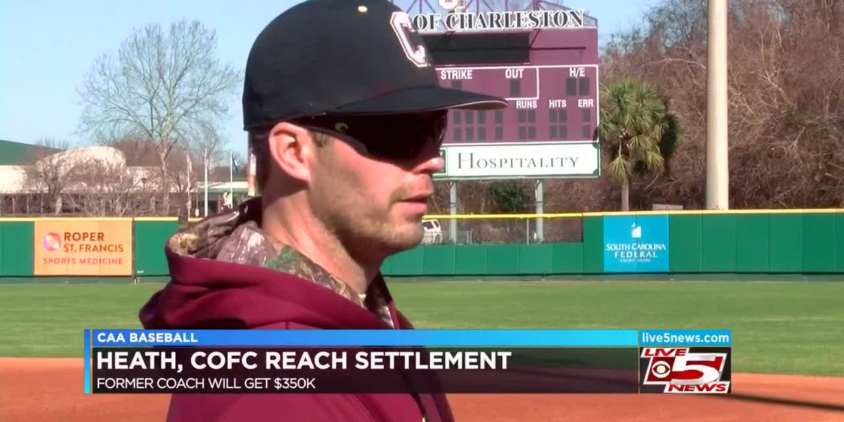VIDEO: Former CofC baseball coach settles lawsuit against college