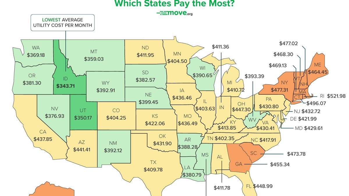 SC utility bills among the highest in the US, new study says