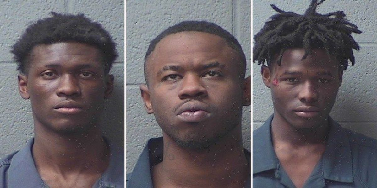 Bond set for trio after Game Stop armed robbery, chase
