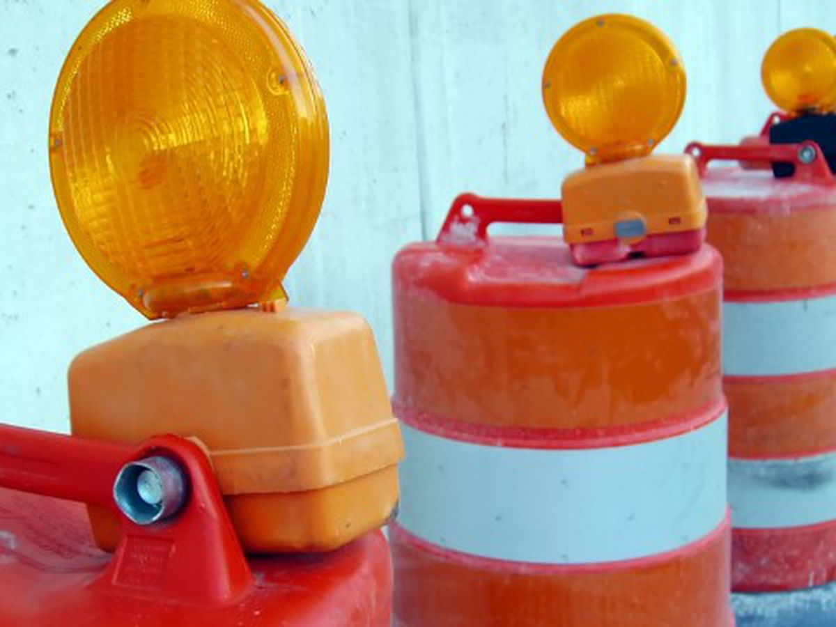 Several lane closures in Charleston Co., Holly Hill beginning Monday
