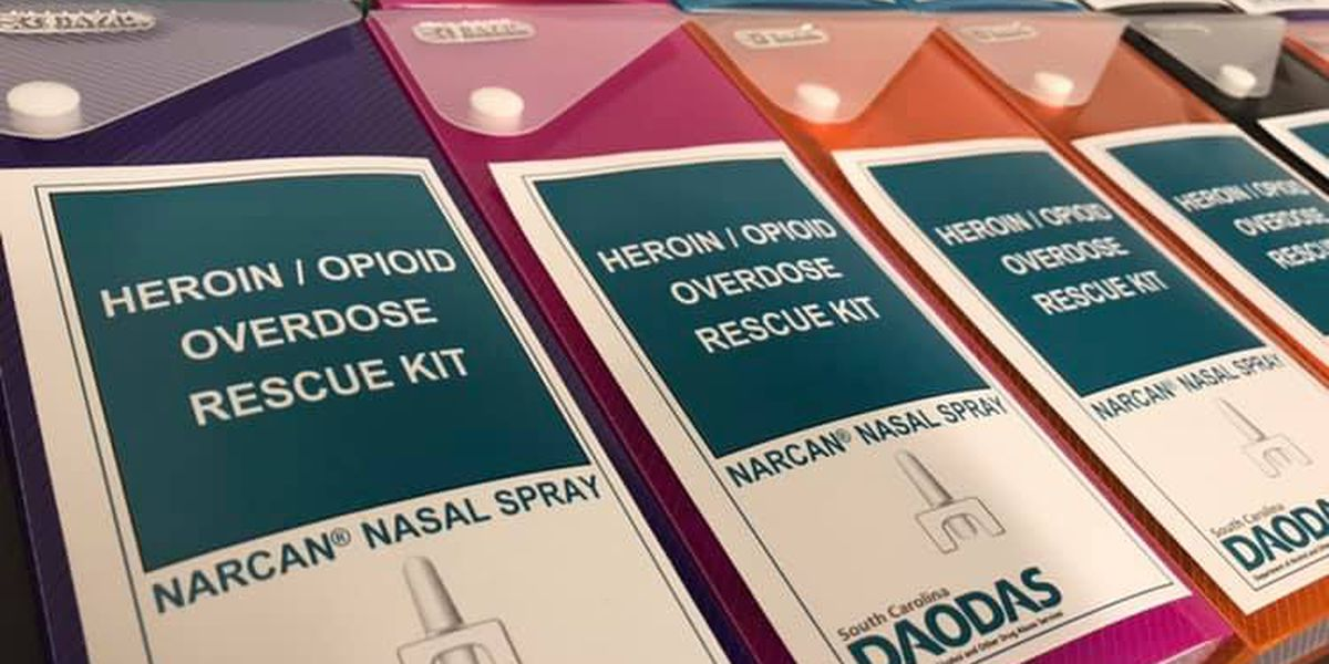 Lowcountry group teaches proper Narcan administration